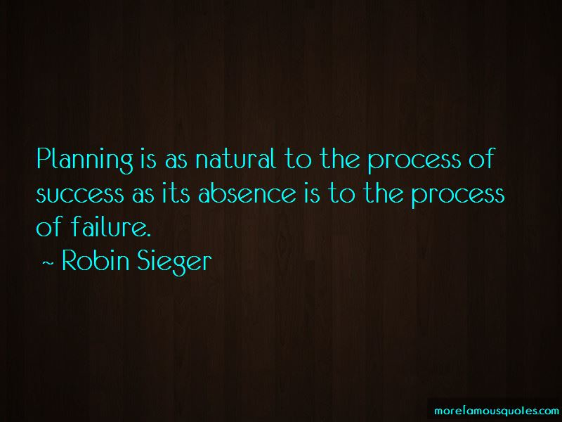 Quotes About Planning For Success