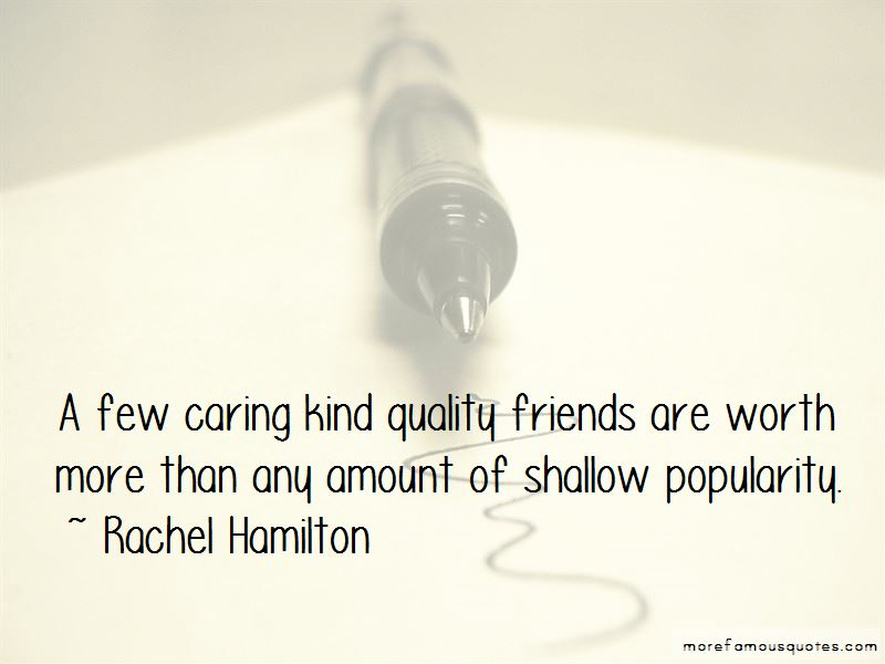 Quotes About Popularity And Friends