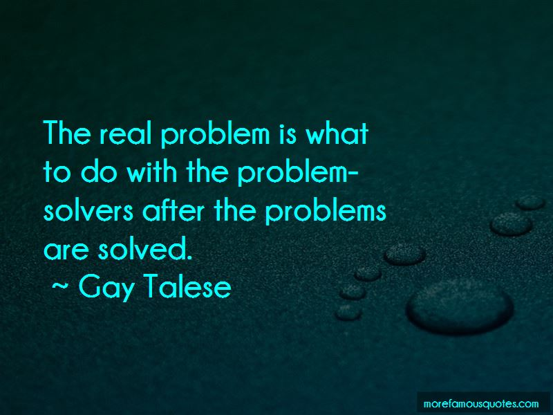 Quotes About Problem Solvers