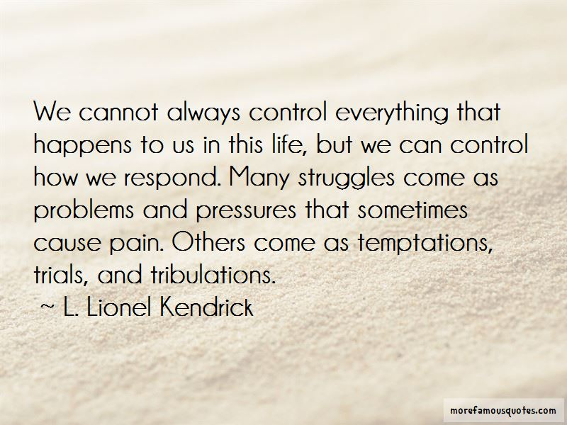 Problems And Trials In Life Quotes Pictures 2