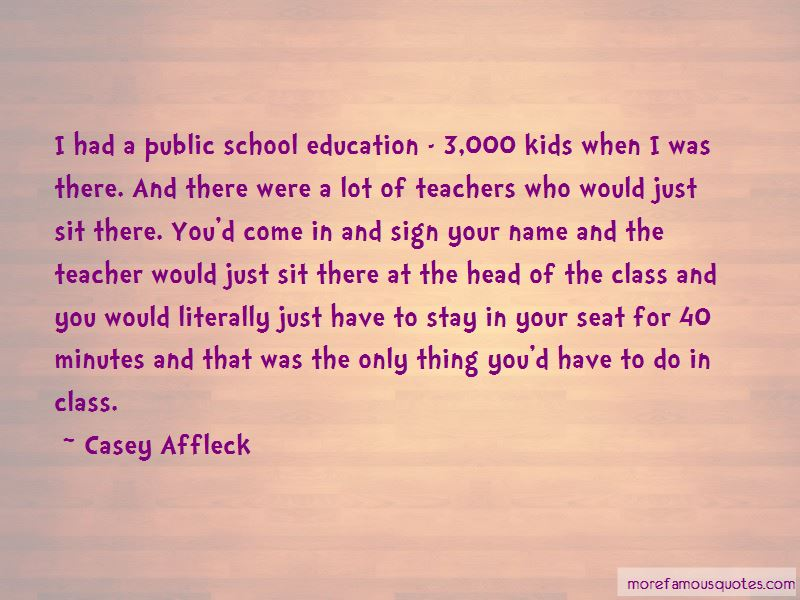 Quotes About Public School Education
