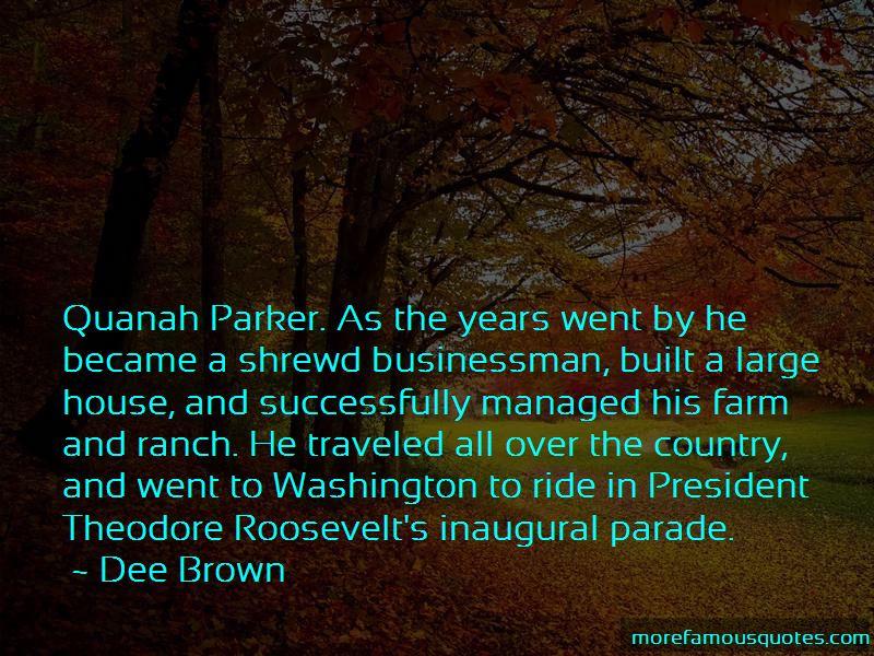 Quotes About Quanah Parker
