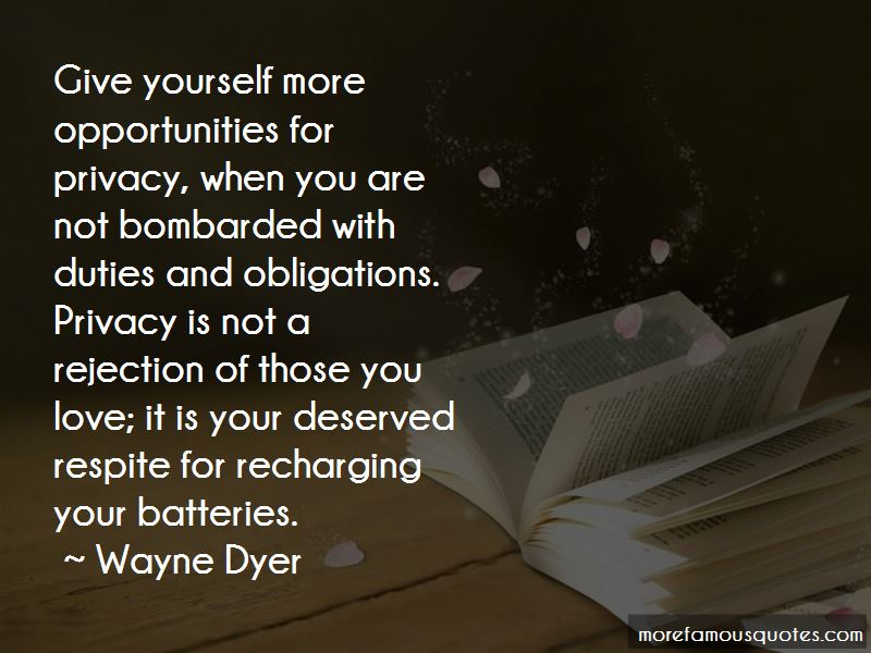 Quotes About Recharging Your Batteries