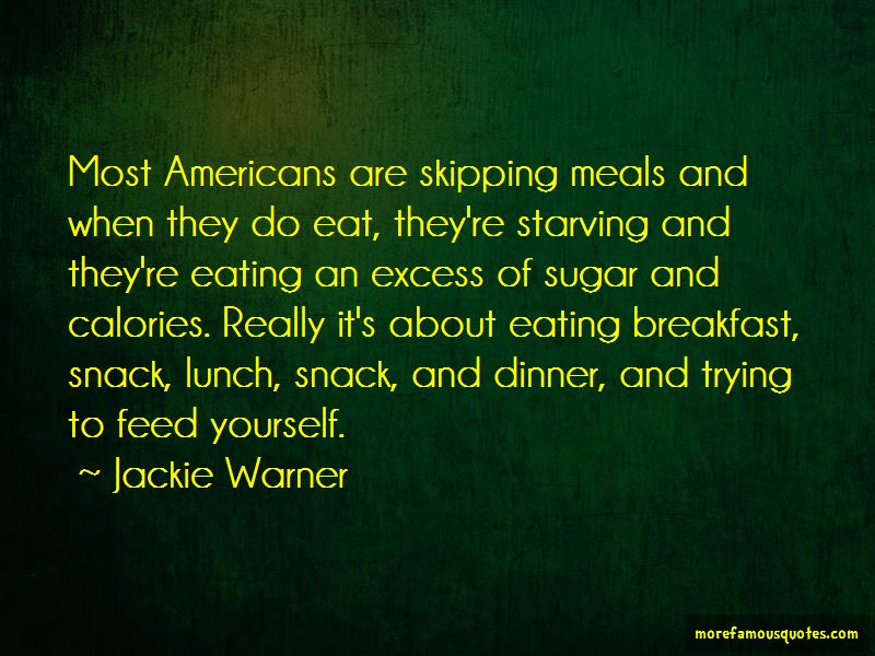 Quotes About Skipping Meals
