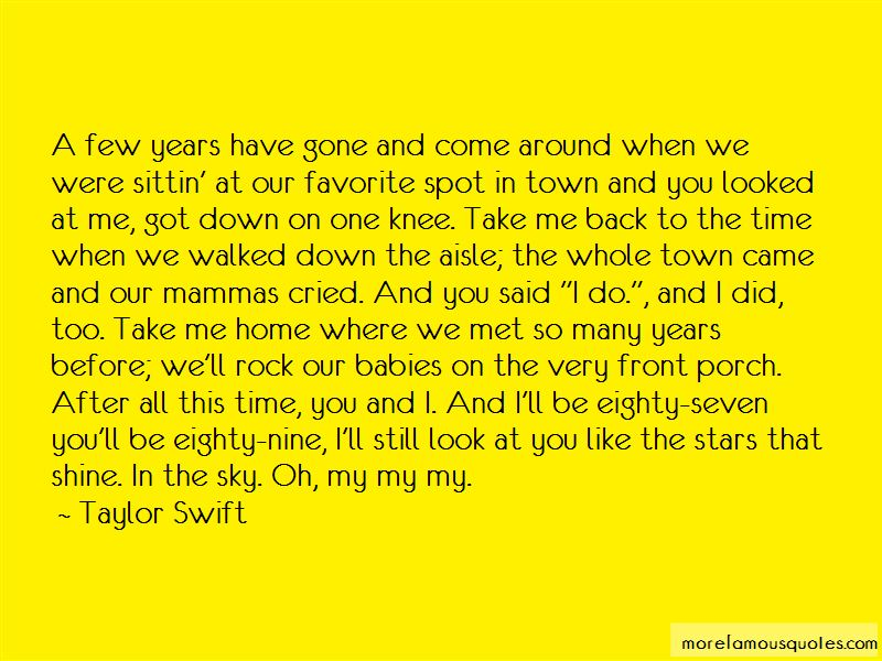 Quotes About Take Me Back
