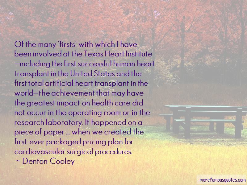 The First Heart Transplant Quotes Pictures 3