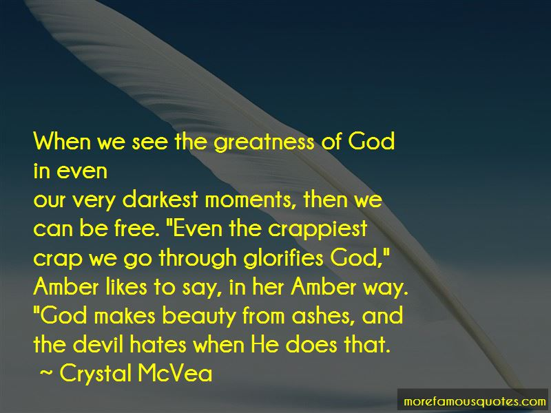 Quotes About The Greatness Of God