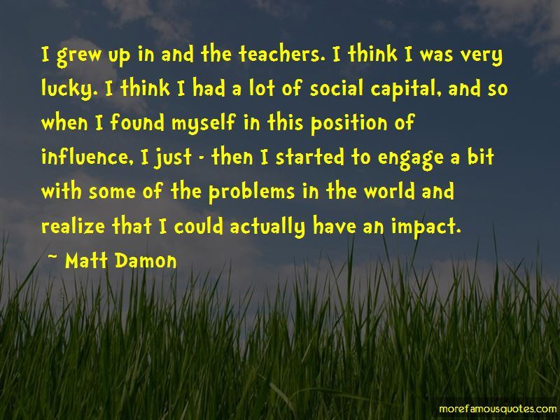 Quotes About The Impact Of Teachers