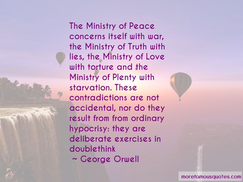 Quotes About The Ministry Of Love