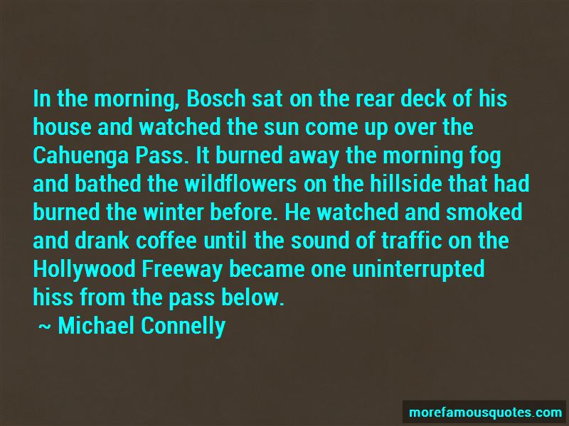 Quotes About The Morning Fog