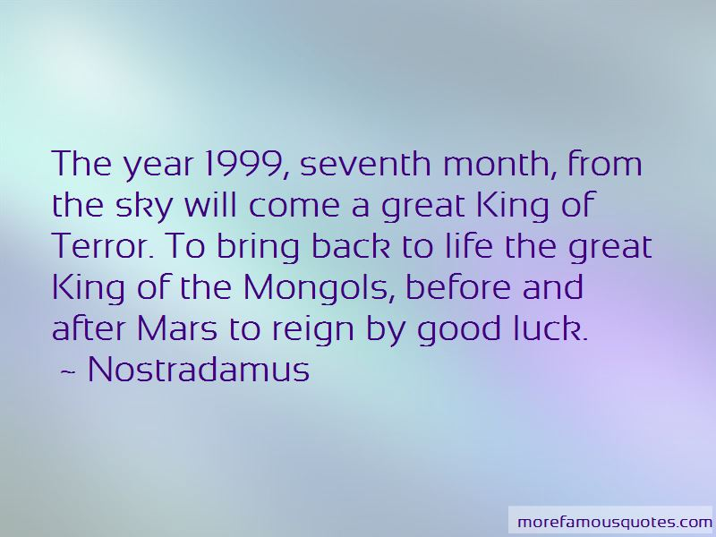 Quotes About The Year 1999