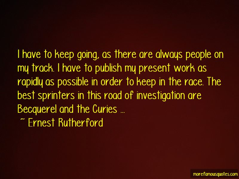 Quotes About Track Sprinters