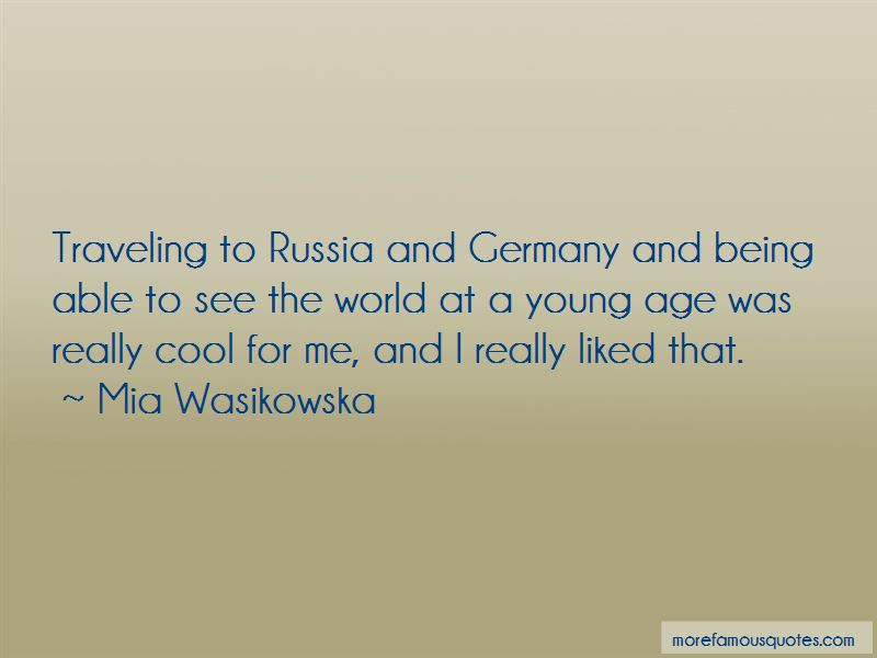 Quotes About Traveling Young