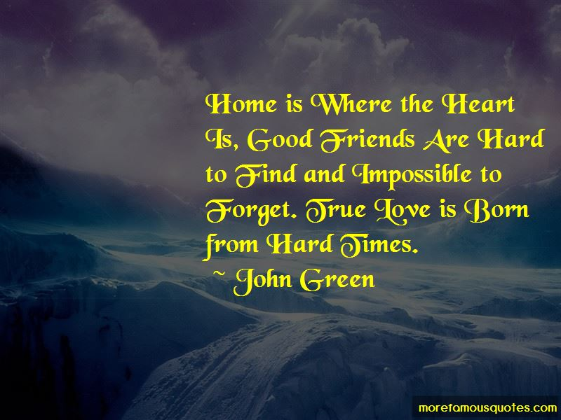 Quotes About True Friends In Hard Times
