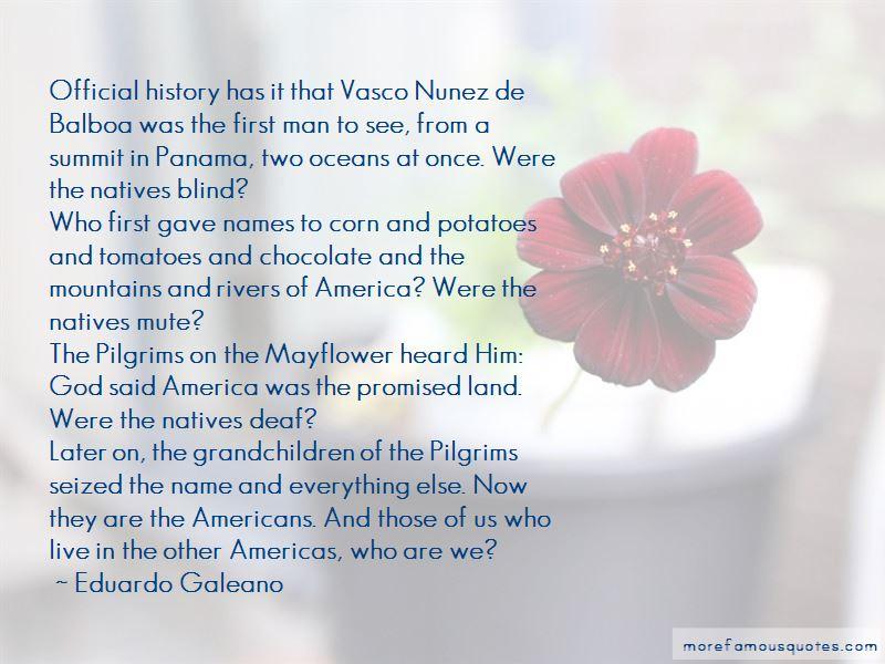 Quotes About Vasco Nunez De Balboa