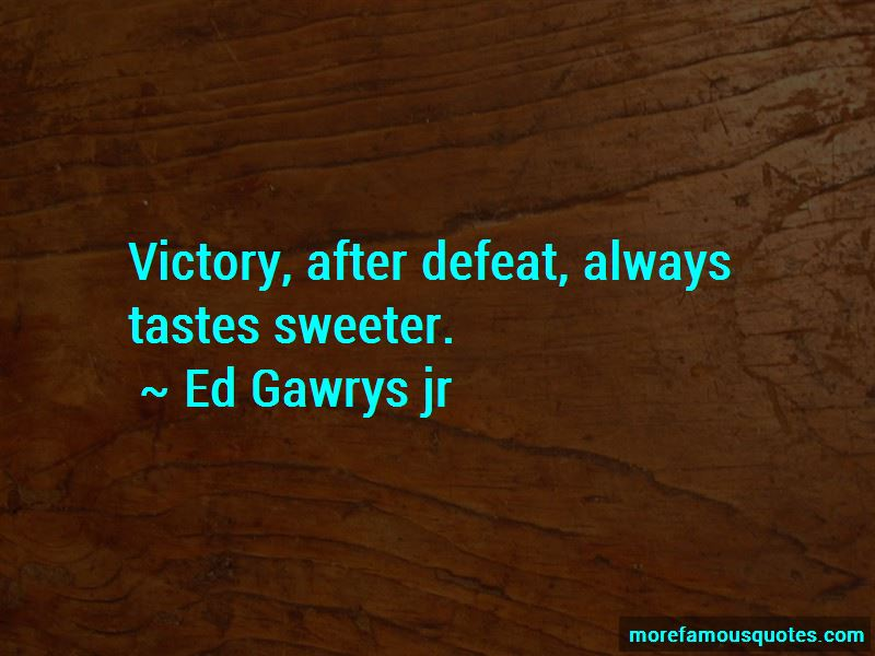 Quotes About Victory After Defeat