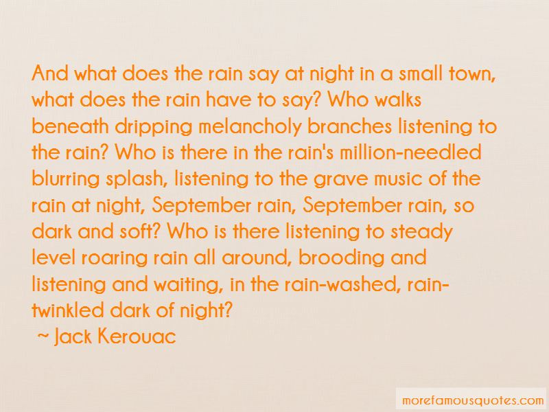 Quotes About Waiting In The Rain