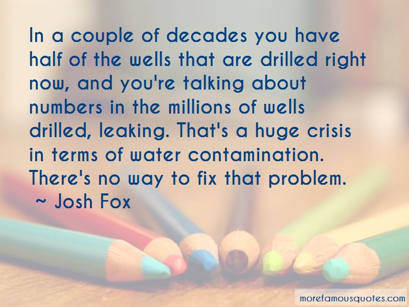Quotes About Water Contamination