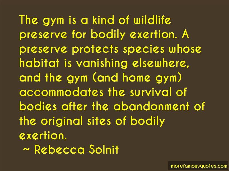 Wildlife Habitat Quotes Pictures 3