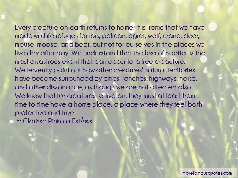 Wildlife Habitat Quotes Pictures 4