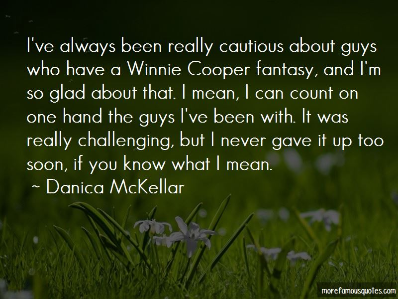 Quotes About Winnie Cooper