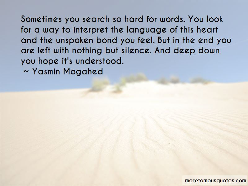 Words Left Unspoken Quotes Pictures 4
