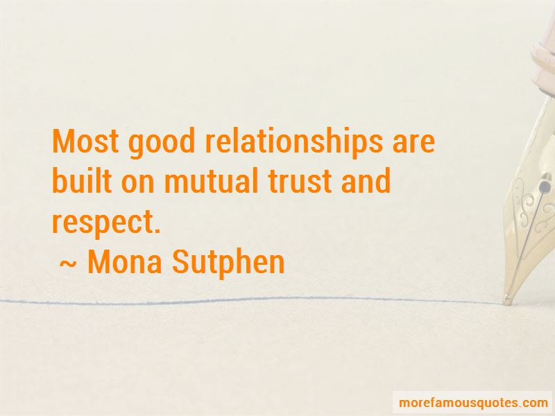 Relationships Built On Trust Quotes Pictures 2
