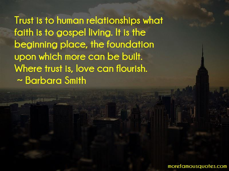Relationships Built On Trust Quotes Pictures 3