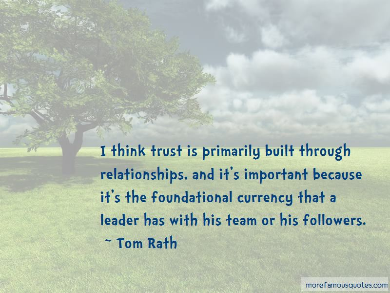 Relationships Built On Trust Quotes Pictures 4