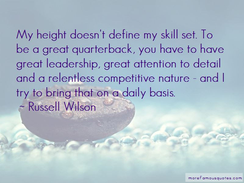 Relentless Leadership Quotes
