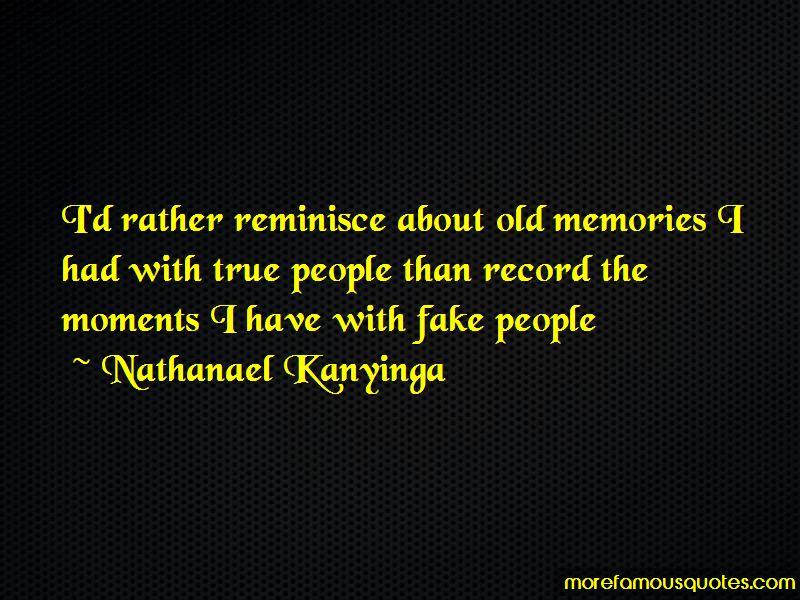 Reminisce Memories Quotes Pictures 3