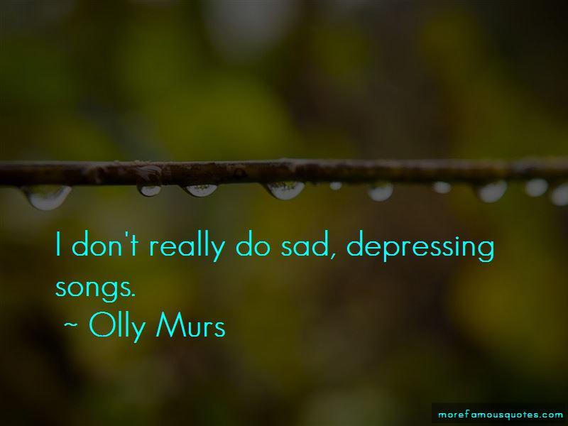 Sad Depressing Songs Quotes