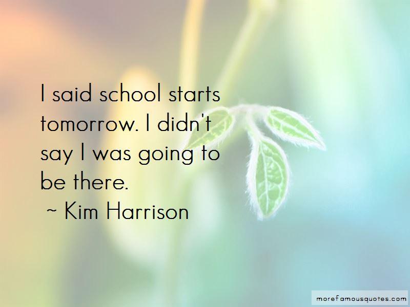 School Starts Quotes