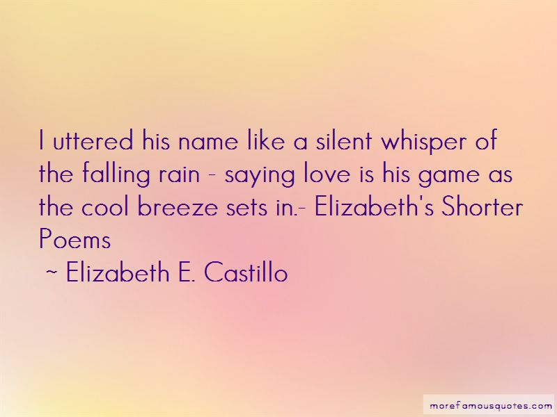 Silent Whisper Quotes Pictures 2