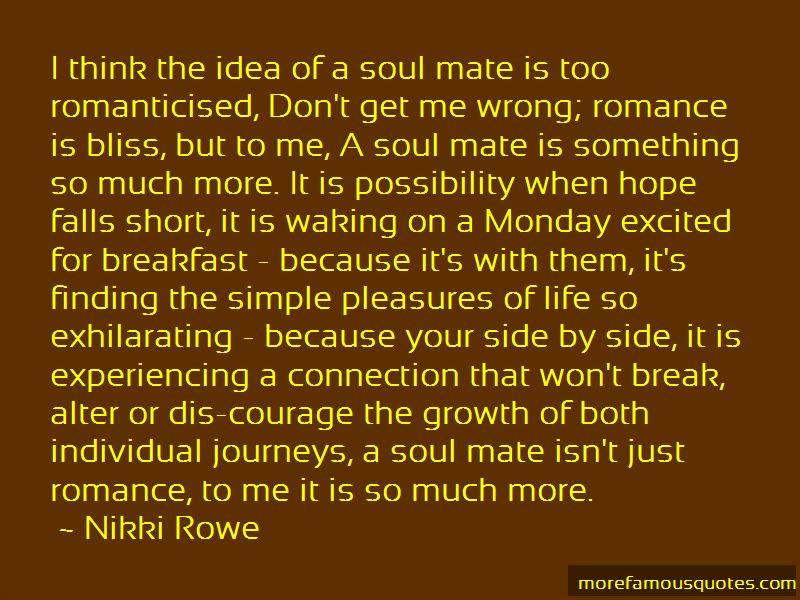 Soul Mate Connection Quotes