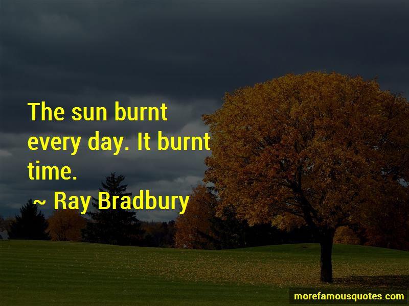 Sun Burnt Quotes
