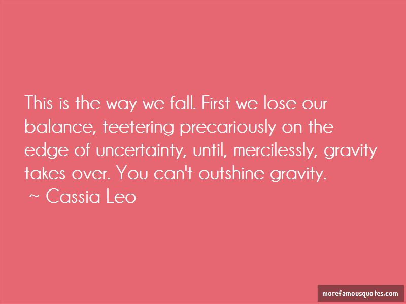 The Way We Fall Quotes Pictures 2