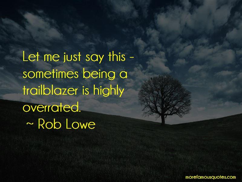 Trailblazer Ss Quotes