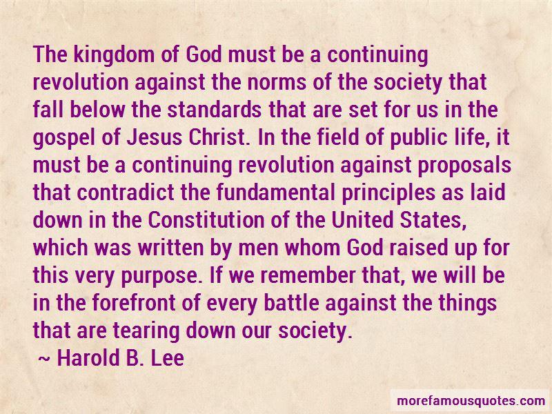 United Kingdom Constitution Quotes