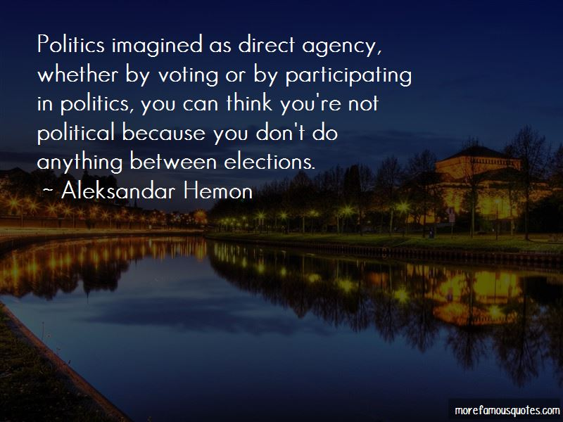 Voting Elections Quotes