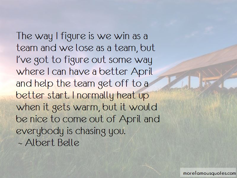 We Win As A Team Quotes