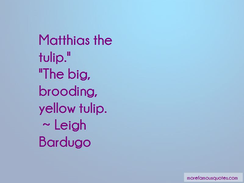 Yellow Tulip Quotes Pictures 3