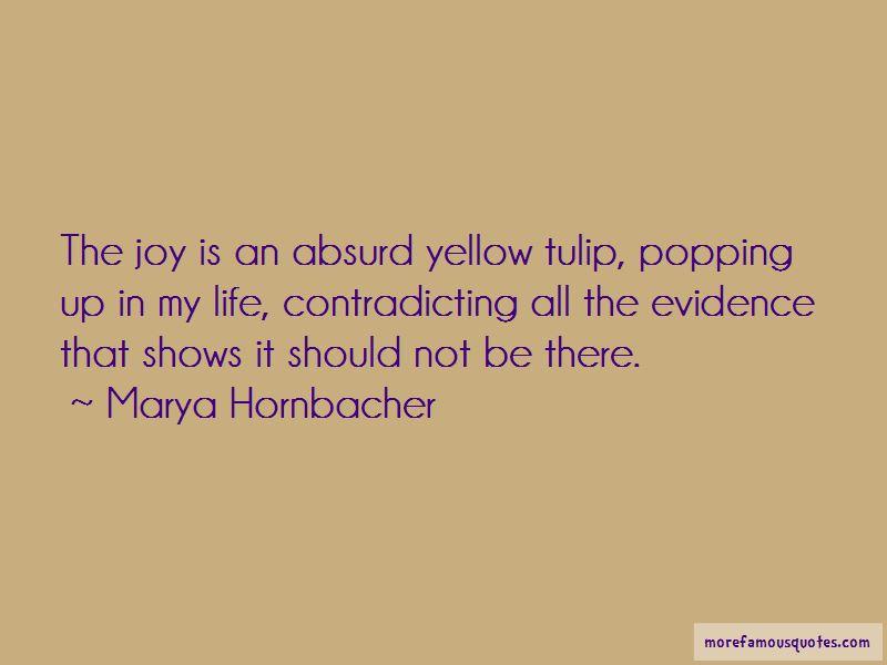Yellow Tulip Quotes