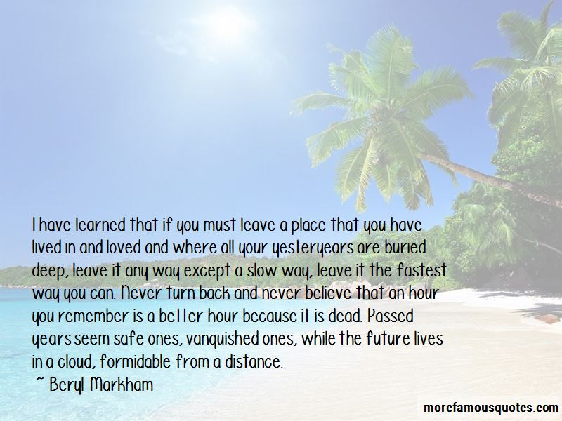 Yesteryears Quotes