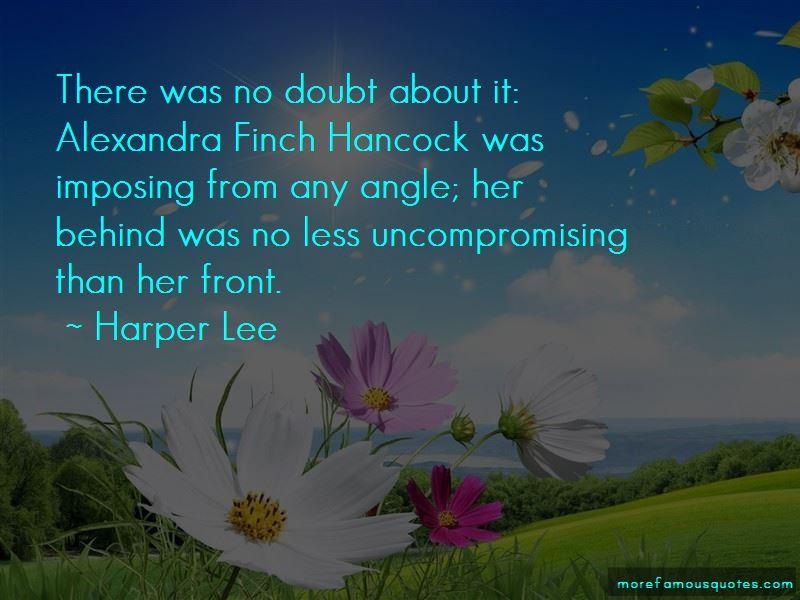 Alexandra Hancock Quotes