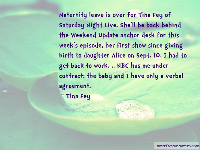 Alice Fey Quotes