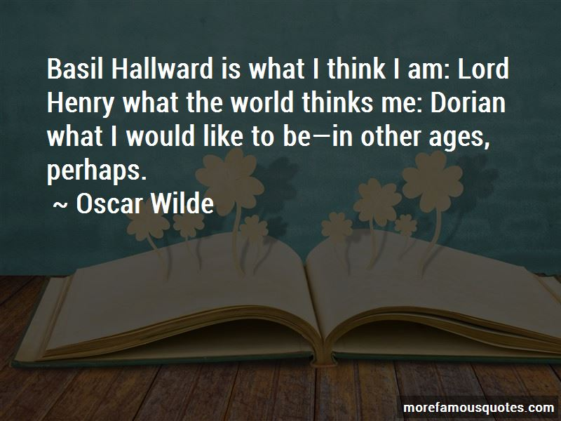 Basil And Dorian Quotes Pictures 3