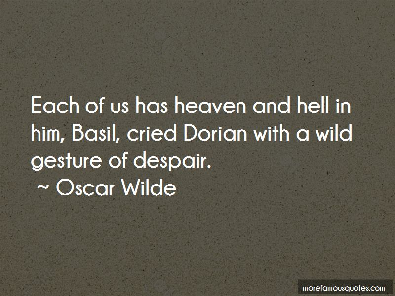 Basil And Dorian Quotes