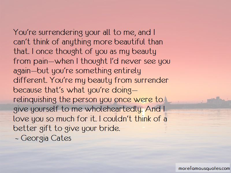 Beauty From Pain Quotes
