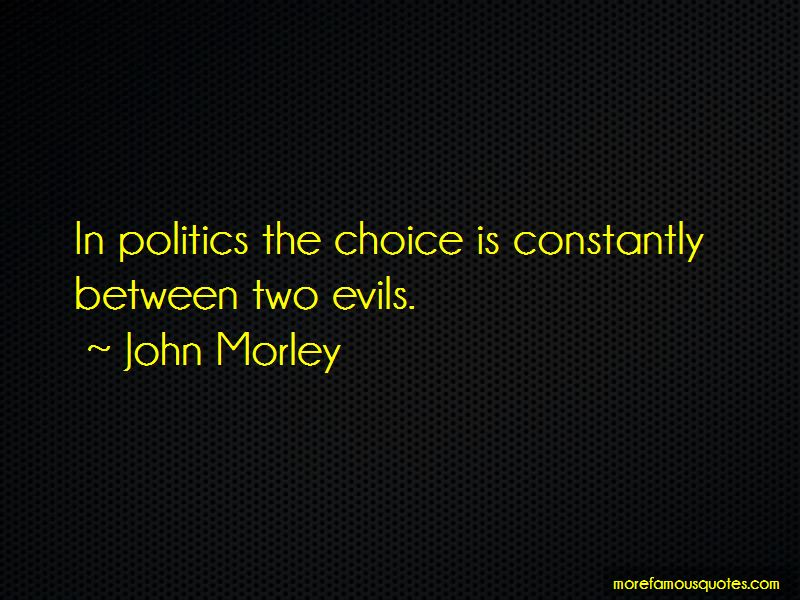 Between Two Evils Quotes